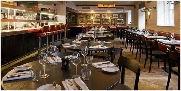 barbican life : review: chiswell street dining rooms and the