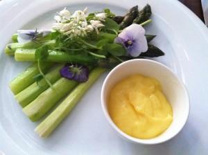 bird asparagus