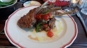 Chabrot - Cote d'agneau