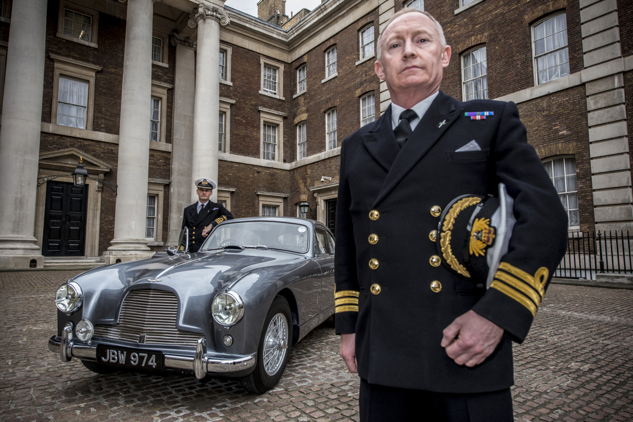 Barbican Life : The Real Bond Car… Unveiled at Ian Fleming\'s old office