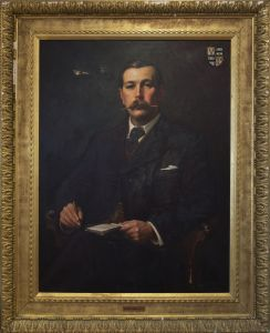 Portrait of Sir Arthur Conan Doyle- 1897 - Sidney Paget