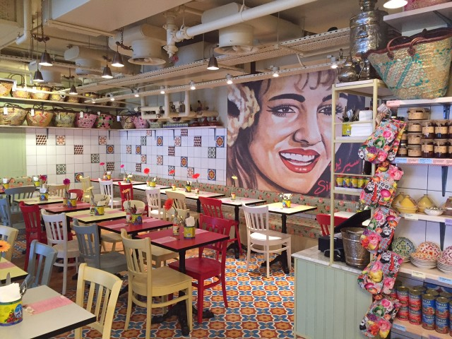 Comptoir Libanais at Broadgate Circle