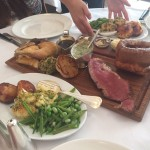 Sunday lunch with jazz at Hix Oyster & Chop House