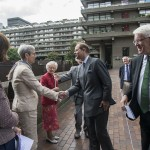 A Royal visit for a Barbican Anniversary