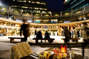 Winter at Broadgate