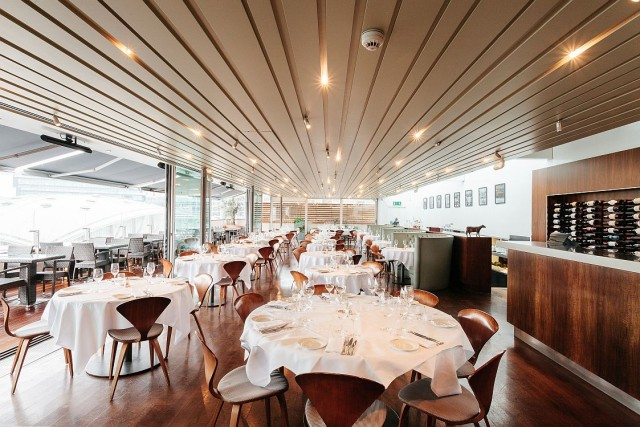 Smiths of Smithfield's flagship Top Floor gourmet restaurant