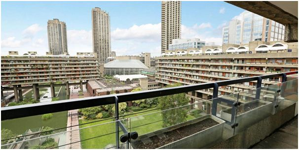 View from 2 bed triplex apartment in Willoughby House on sale at Scott City for £1,135,000