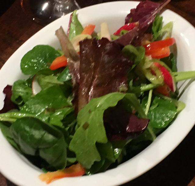 Market salad (£3.95)