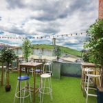 Bird's summer menu and Spritz garden