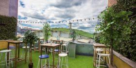 Bird's summer menu and Spritz garden