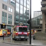 Fire Brigade exercise in Cromwell Tower