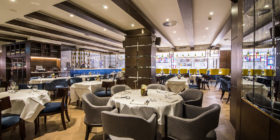 Luxurious club/hotel offers nonmember weekend fine dining