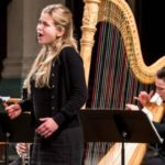 Special concert for voice and harp at Spitalfields