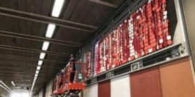 Brutalist Tapestry in Beech Street Tunnel