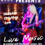 Live Music at Artillery Arms 23rd May